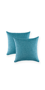 decorative bed pilows turquois decorative pillows for bed pillows case decoration blue throw pilllws