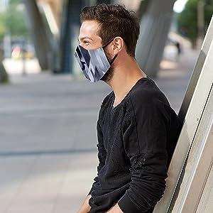 True Religion V-block Face Mask
