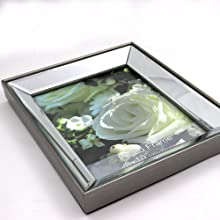 mirrored pictures frame  wall mounted home decor