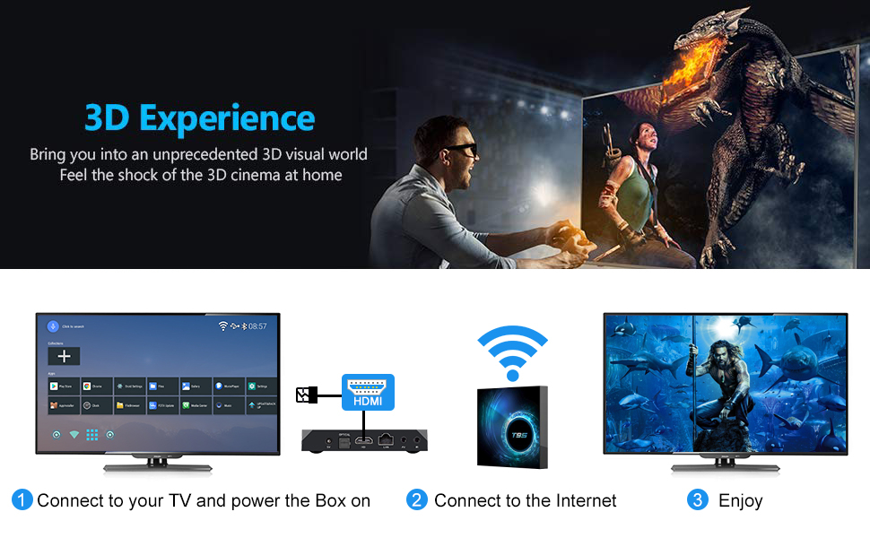 smart android tv box