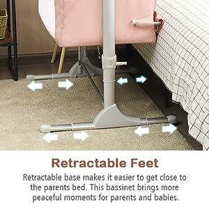 retractable feet