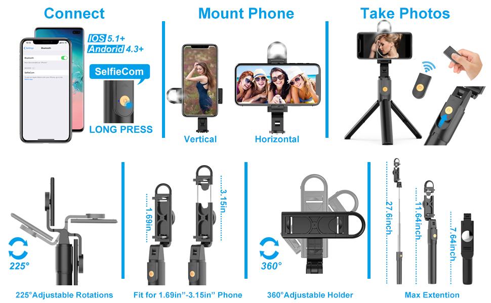 mobilife selfie stick