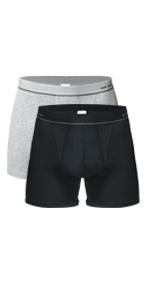 Banunos 2 pack rib cotton boxer shorts