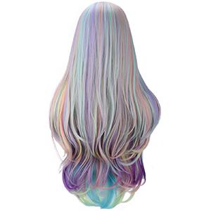 Rainbow Multi-Color Hair Wigs