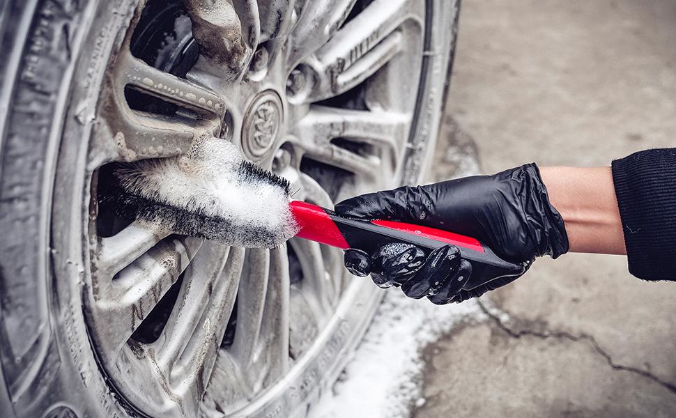 Amazon.com: Maxshine Wheel and Engine 360 Brush: Automotive