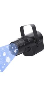 LED-projector sneeuwvlokken