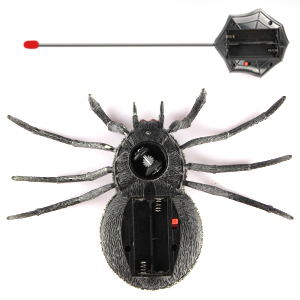 halloween toy, remote control spider, prank, trick or treat, remote control toy, boy toys, kids toys