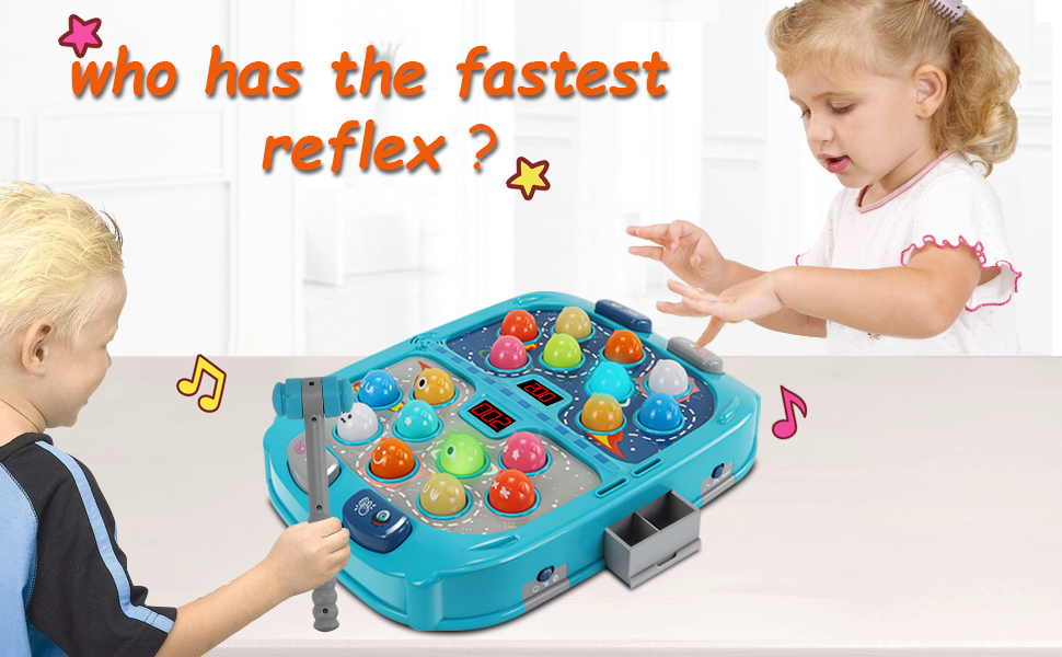 Whack-A-Mole Type Game Toy