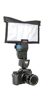 FlashBender v3, flash bender, small soft box, flash difffuser, speedlight reflector