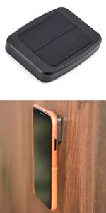 Soporte de pared minikin para teléfonos móviles Magno Mount v3 por Dockem