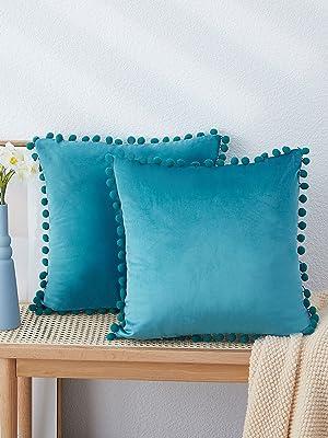 teal pillows decorative throw pillows