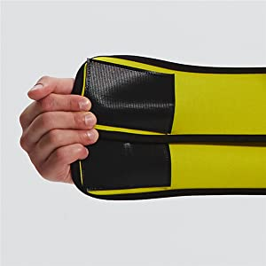 double strap with strong velcro design