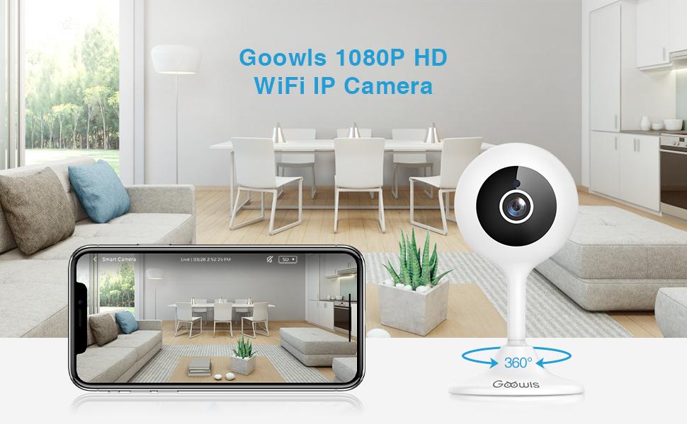 Goowls Home WiFi IP Camera Indoor