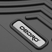 EDRO Floor Mats Compatible for 2017-2019 Nissan Titan / 2016-2019 Nissan Titan XD Crew Cab