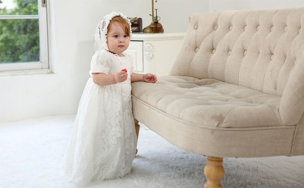 Baby Girl Christening Baptism Gowns