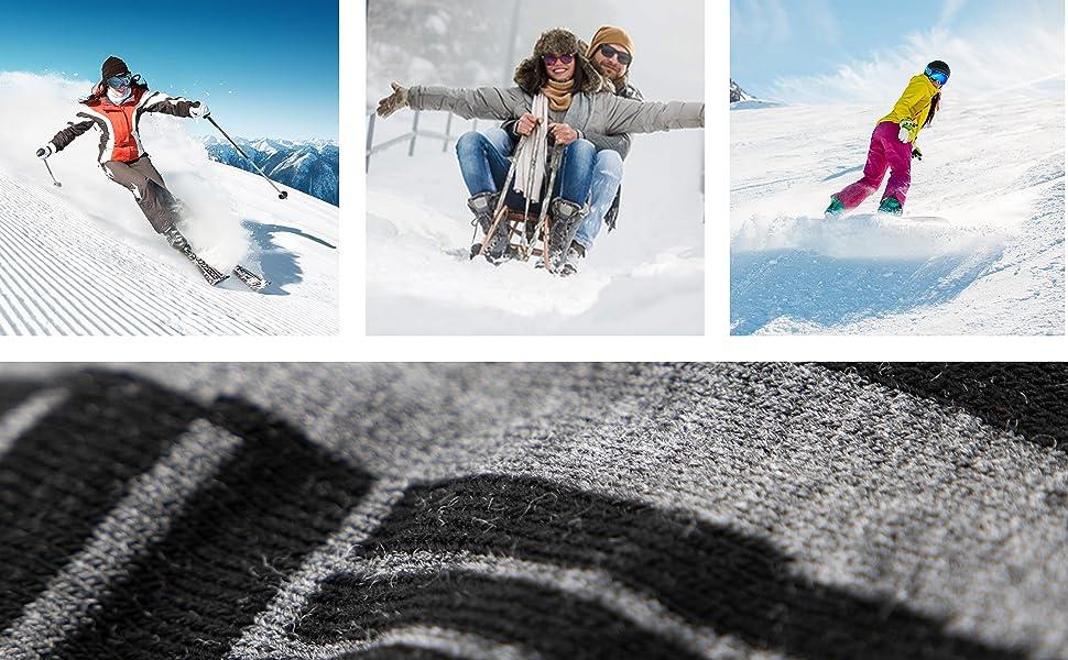 Occulto - Calcetines de esquí para mujer