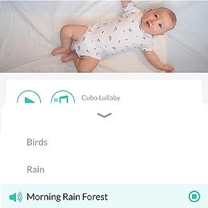 app in-built baby lullaby