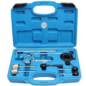 Cclife Motor Einstellwerkzeug Arretierwerkzeug Steuerzeiten Werkzeug Diesel Kompatibel Mit Vag Vw Audi 1 4 1 6 2 0 Tdi Cr Auto