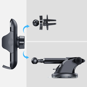 Mult-functional car phone mount