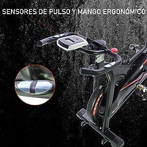 bicicleta de spinning, bicicleta estatica, bicicleta estatica fitfiu, bicicleta estatica SHUOQI