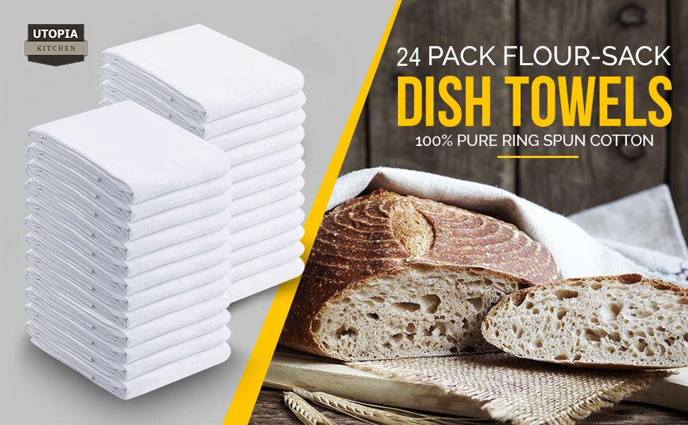 Flour Sack 24 Pack