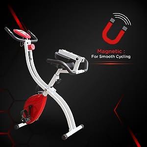 Magnetic Upright Bike Fitness Exercise