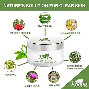 tea tree oil for acne, acne treatment