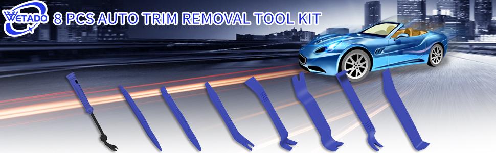 8 pcs auto trim removal tool kit