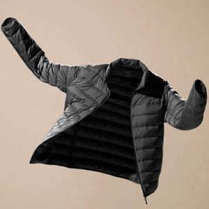 lightweight winter women down jacket