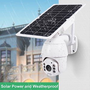 solar powered and weatherproof