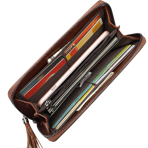 Women Wallet  Wristlet Dimension and Structure