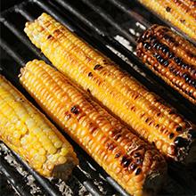 OUTDOOR BBQ Bacon Smoked corn