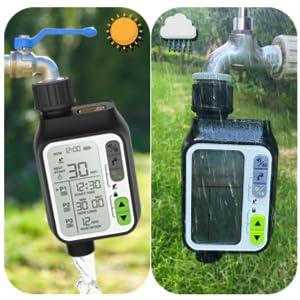 water valve timer