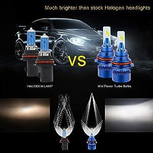 9007 headlight bulbs replacement