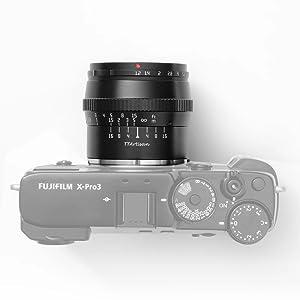 TTartisan lens , camera lens, camera lens for fuji