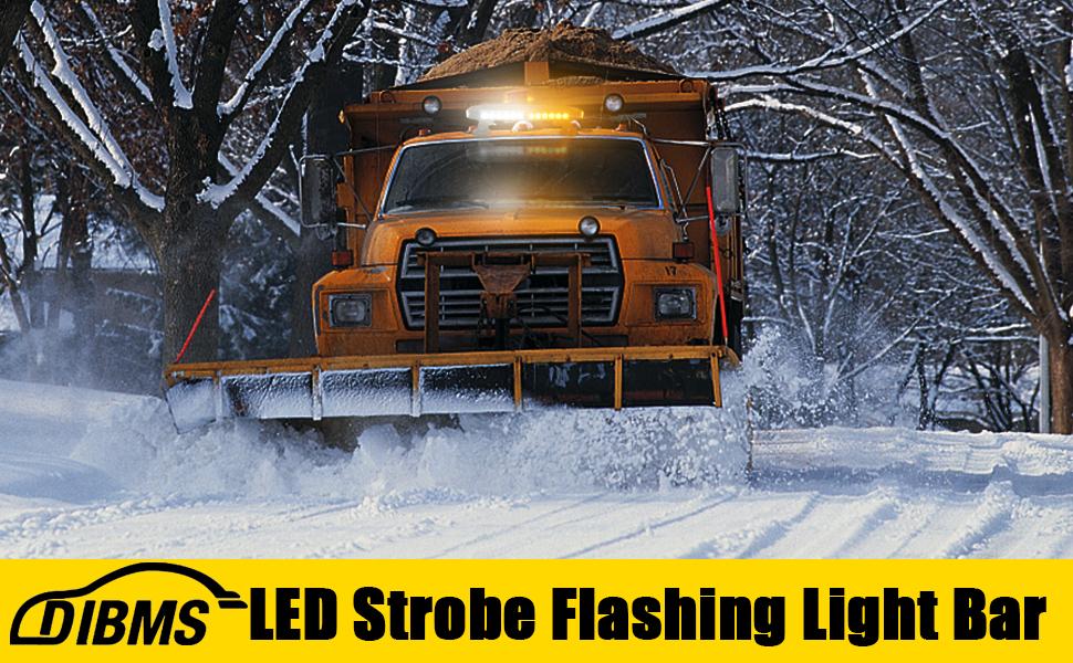 LED STROBE Flashing LIGHT BAR
