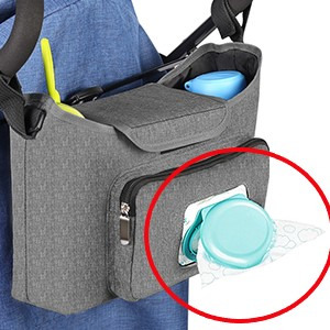 Fits All Strollers, Easy Installation