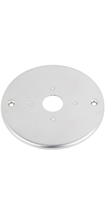reading lamp mount plate