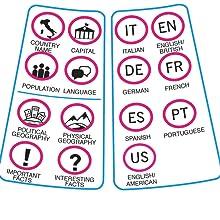 Parlamondo Interactive Globe Information Panel
