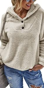 fleece fuzzy faux shearling Jacket is very soft and comfy, skin-friendly