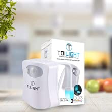 package toilet night light