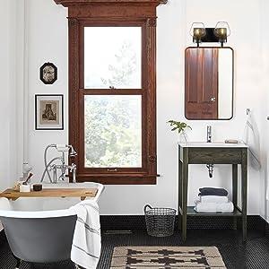 2-Light Bath Vanity Light