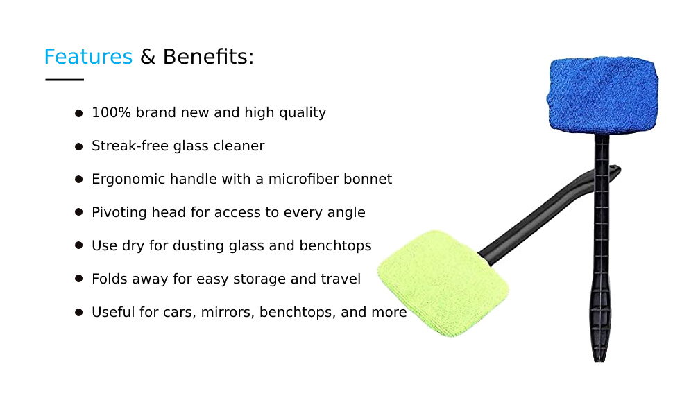 car windshield cleaning kit