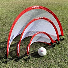 pop up goals come in three sizes