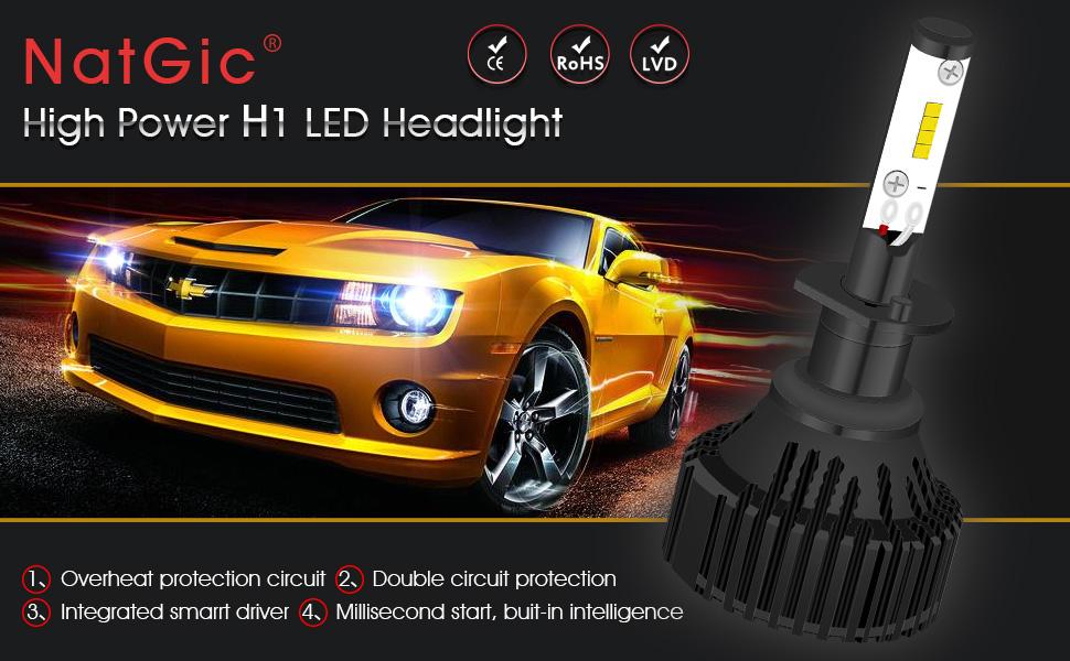 classique Lucas Classique Lentille En Verre Lampe inverse lumières paire pour kit de voiture