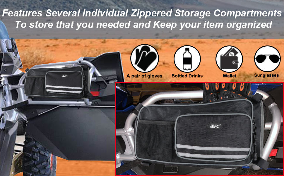UTV Maverick X3 Door Storage Bags