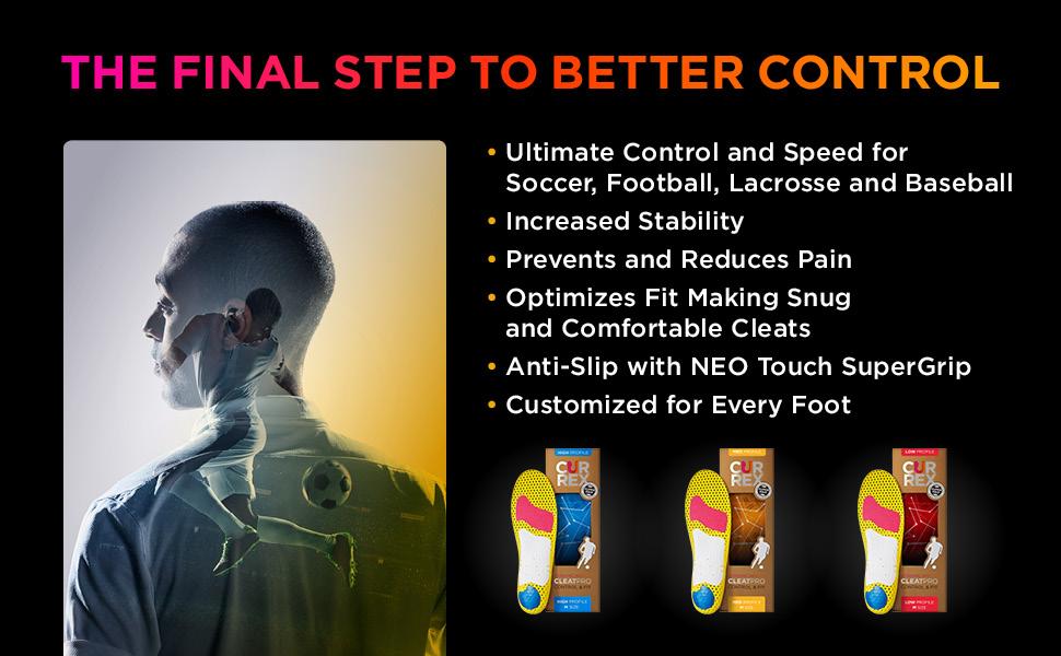 currex cleatpro, sports insoles, sports orthotics