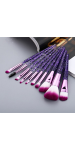 purple brush
