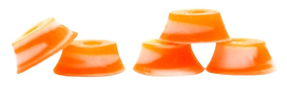 Bubble Bushings Pro Fingerboard Tuning Red//Yellow swirl,Pack of 5-Teak Tuning
