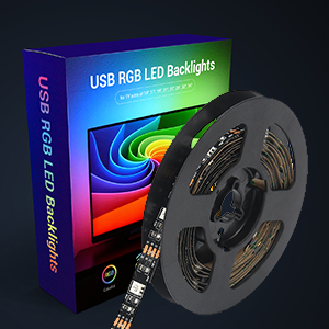 USB RGB LED Backlights